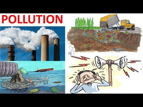 POLLUTION || TYPES OF POLLUTION || SCIENCE VIDEO FOR KIDS