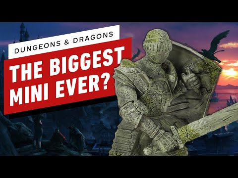 Dungeons and Dragons: Unboxing the Walking Statue of Waterdeep 'Miniature'