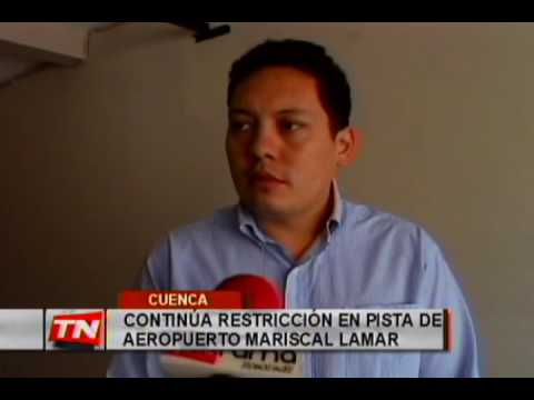 Continúa restricción en pista de aeropuerto Mariscal Lamar