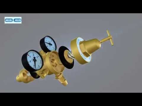 Arcon Gas Pressure Regulator 3D By Mitco Engineering Works, New Delhi