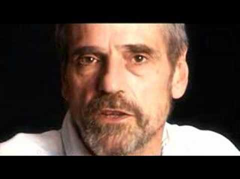 Jeremy Irons talks about the death penalty