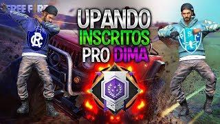 Subindo inscritos pro ‹Dima›[Live●] Ranqueada Squad #2- Free fire Battlegrounds