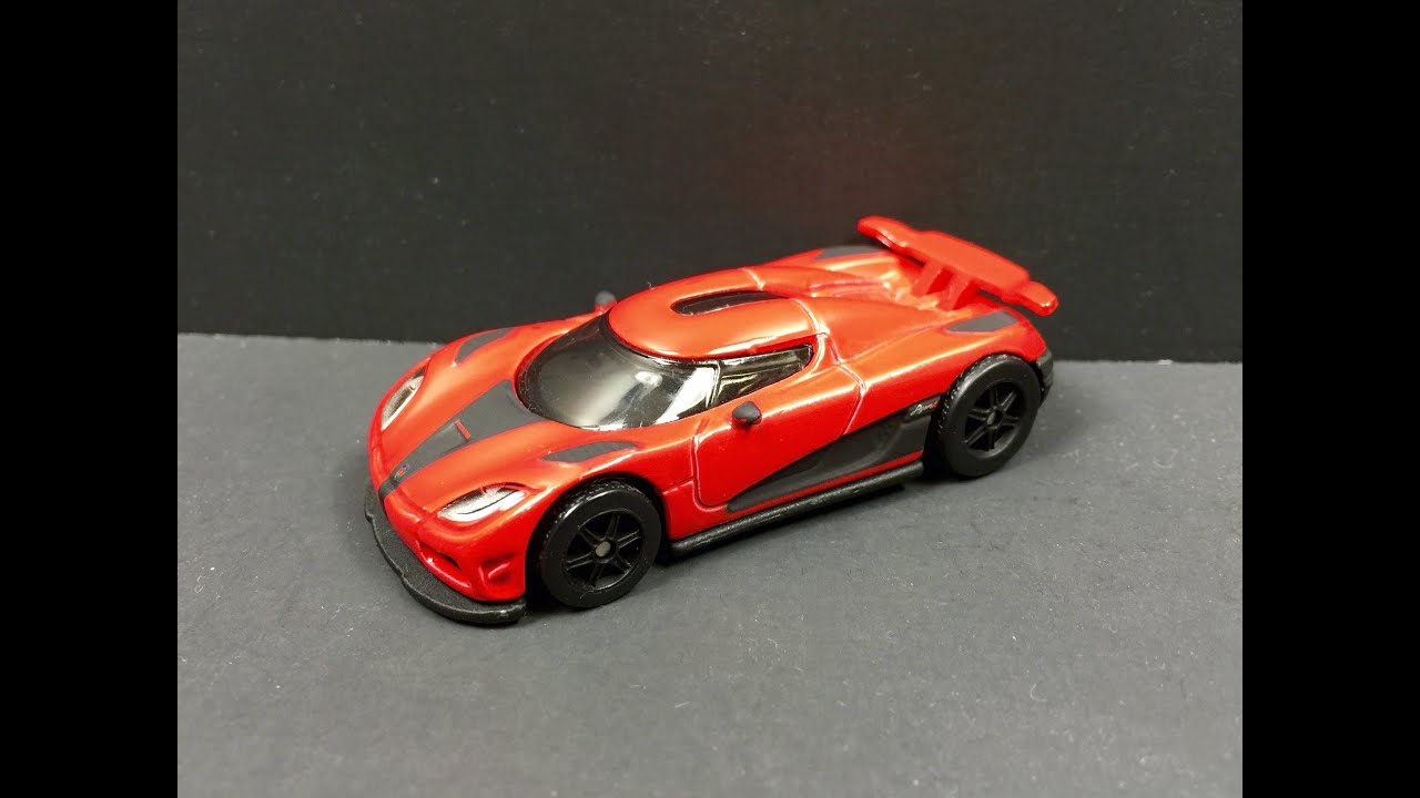 Hot Wheels Koenigsegg Agera R 1:64 (1080p HD) - YouTube