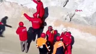 Milas'ta maden ocağında göçük: 3 işçi enkaz altında
