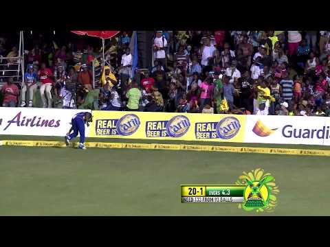 Limacol CPLT20 Final 2014: Guyana Amazon Warriors V Barbados Tridents