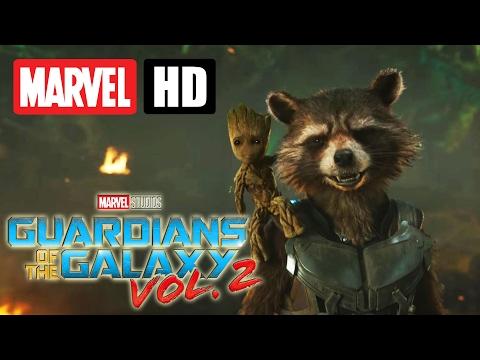 GUARDIANS OF THE GALAXY VOL. 2 - Extended Sneak Peek (deutsch | german) | Marvel HD