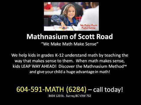 Algebra Tutor Surrey BC - Mathnasium Of Scott Road - 604-591-6284