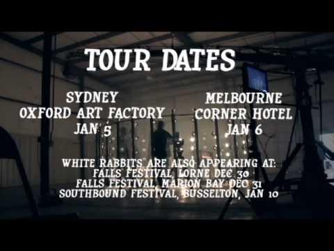 White Rabbits - 2010 Australian Tour Promo