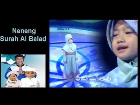 Hafiz Indonesia 2015   Neneng Surah Al Balad   Hafiz Indonesia 29 Juni 2015