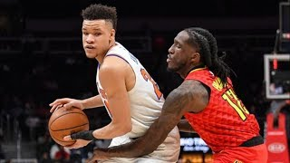 Knicks snap 18 game losing streak vs hawks! 2018-19 nba season