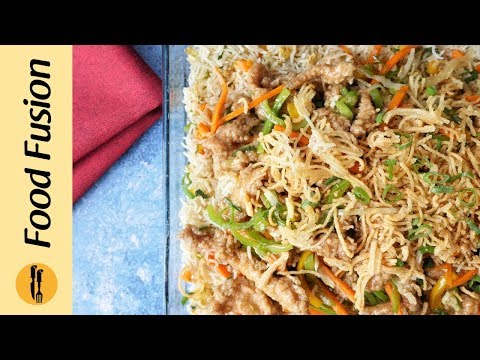 Crispy Chicken With Fried Rice Platter Recipe By Food Fusion (Dawat Special Recipe)