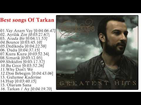 Tarkan - Greatest Hits Of Tarkan CD1 l Top best Of Tarkan