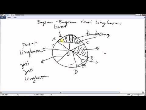Lingkaran dan bagian bagiannya youtube lingkaran dan bagian bagiannya ccuart Choice Image