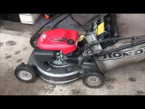 Look Inside A Honda Lawnmower Engine