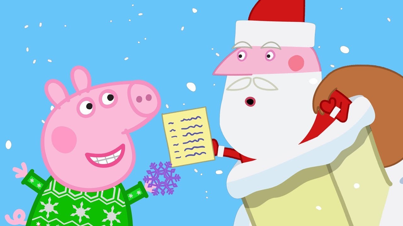 La Grotte Du Père Noël 🎄Peppa Pig Noël 🎄Dessin Animé - YouTube