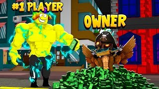 I Gave the OWNER MAX ROBUX to make me #1 PLAYER (Roblox)