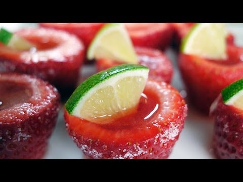 How to Make Adorable Watermelon Jell-O Shots | Happiest Hour