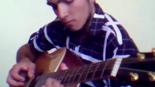 """""""Мелодия ангелов"""" на гитаре (River flows in you)"""