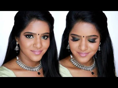 THURSDAY'S TAMIL TUTORIAL- NAVRATHRI SPECIAL-LOOK 1-Longlasting Makeup Tips for Oily Skin