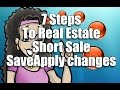 7 Steps To Real Estate Short Sale