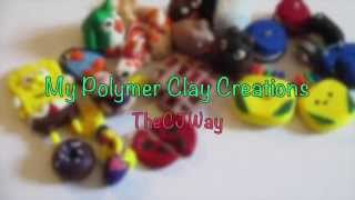 My polymer clay creations Thumbnail