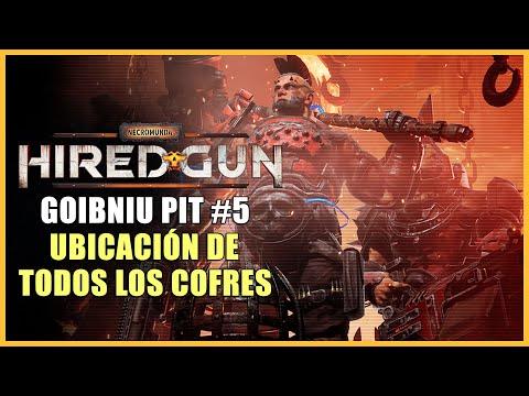 Necromunda: Hired Gun - Todos los cofres de Goibniu Pit - Capítulo 5
