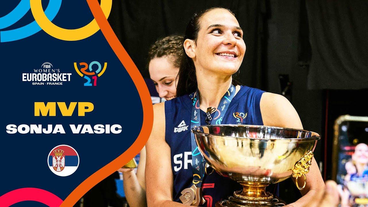 Sonja Vasic - Tissot MVP of the FIBA Women's EuroBasket 2021!