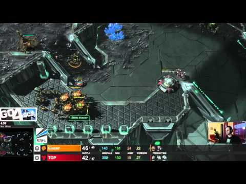 Elazer vs Top - ZvT - Starcraft 2 LotV ESL Go4Sc2