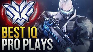 THE BEST IQ PLAYS FROM PRO PLAYERS  - Overwatch Montage
