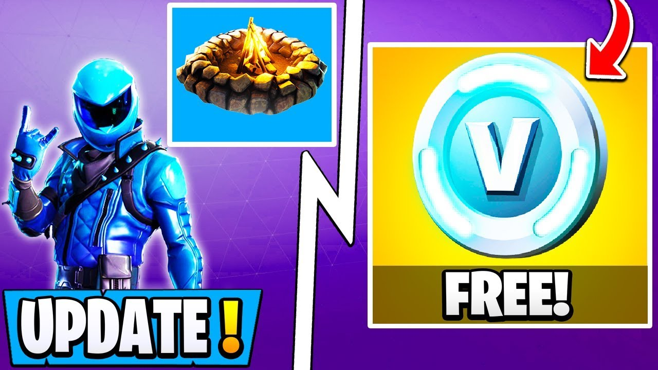 New Fortnite Update Free Vbucks 730 Changes Exclusive Skin