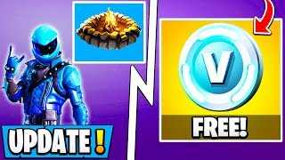 *NEW* Fortnite Update! | Free Vbucks, 7.30 Changes, Exclusive Skin!