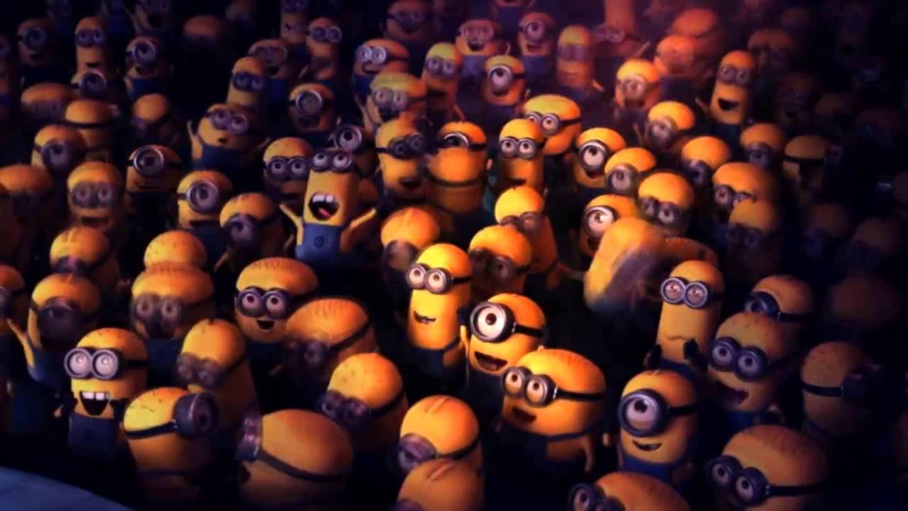 Minions Party Time - YouTube |Moving Minions Party