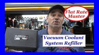Vacuum Coolant Filler