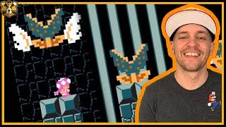 Wading through the HOT GARBAGE of Super Expert: Endless No Skip #19: Super Mario Maker 2