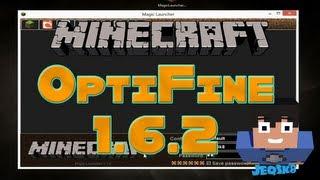 Como Instalar OptiFine en Minecraft 1.6.2 y 1.6.4 (Premium y Pirata)   Minecraft Tutorial