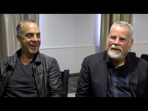 Bosch's Titus Welliver & Michael Connelly