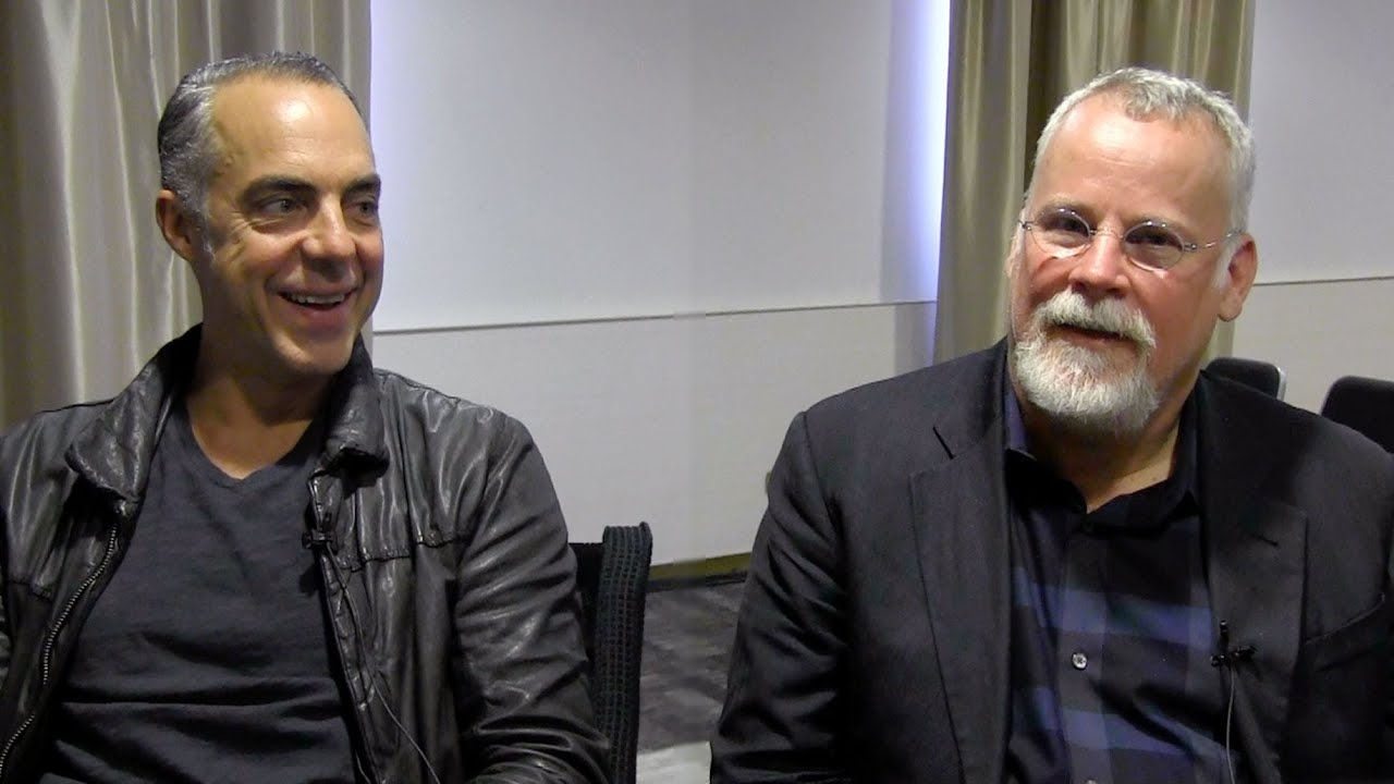 Bosch's Titus Welliver & Michael Connelly - YouTube