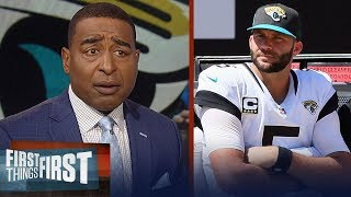 Cris Carter's advice to the Jags: Swallow your pride and call Kaepernick | NFL | FIRST THINGS FIRST