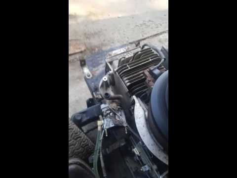 How to adjust carburetor on riding lawn mower