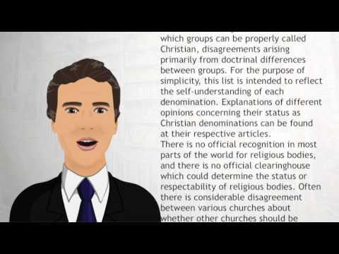 List of Christian denominations - Wiki Videos