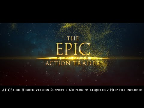 The Epic Action Trailer   After Effects template