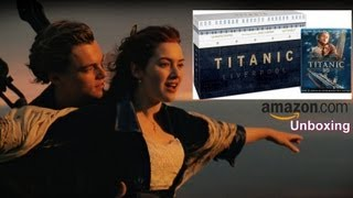 Titanic 3D Amazon Exclusive Collector's Edition Blu-ray Unboxing - (1997)