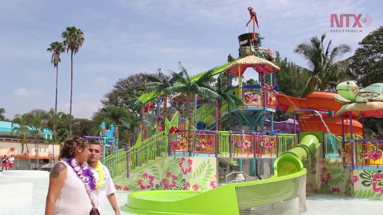 Inauguran El Parque Acuatico Six Flags Hurricane Harbor Oaxtepec