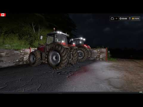 FS17 - Coldborough Park Farm 45 - Seeding, Grass collection