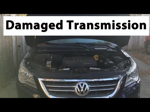 Volkswagen Routan 62TE 6-Speed Automatic Transmission Damage