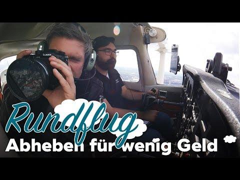 Günstiger Rundflug über Hamburg: Mobile Reporter testet Mitflug-Zentrale