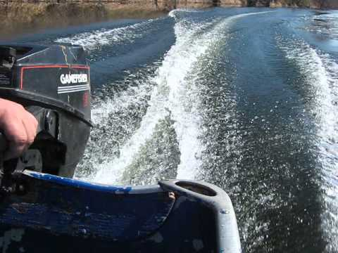 1990 Gamefisher 15 Hp Outboard Motor