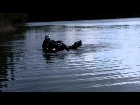 Jeffrey goes for a swim!!