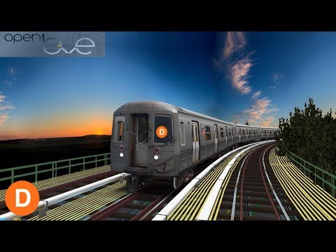OpenBVE: Coney Island Bound (D) Tri-Borough Express | R68