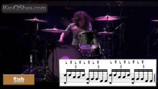 Ilan Rubin - Guitar Center Transcription